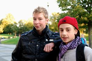 Andreas und Franz: Eishockey